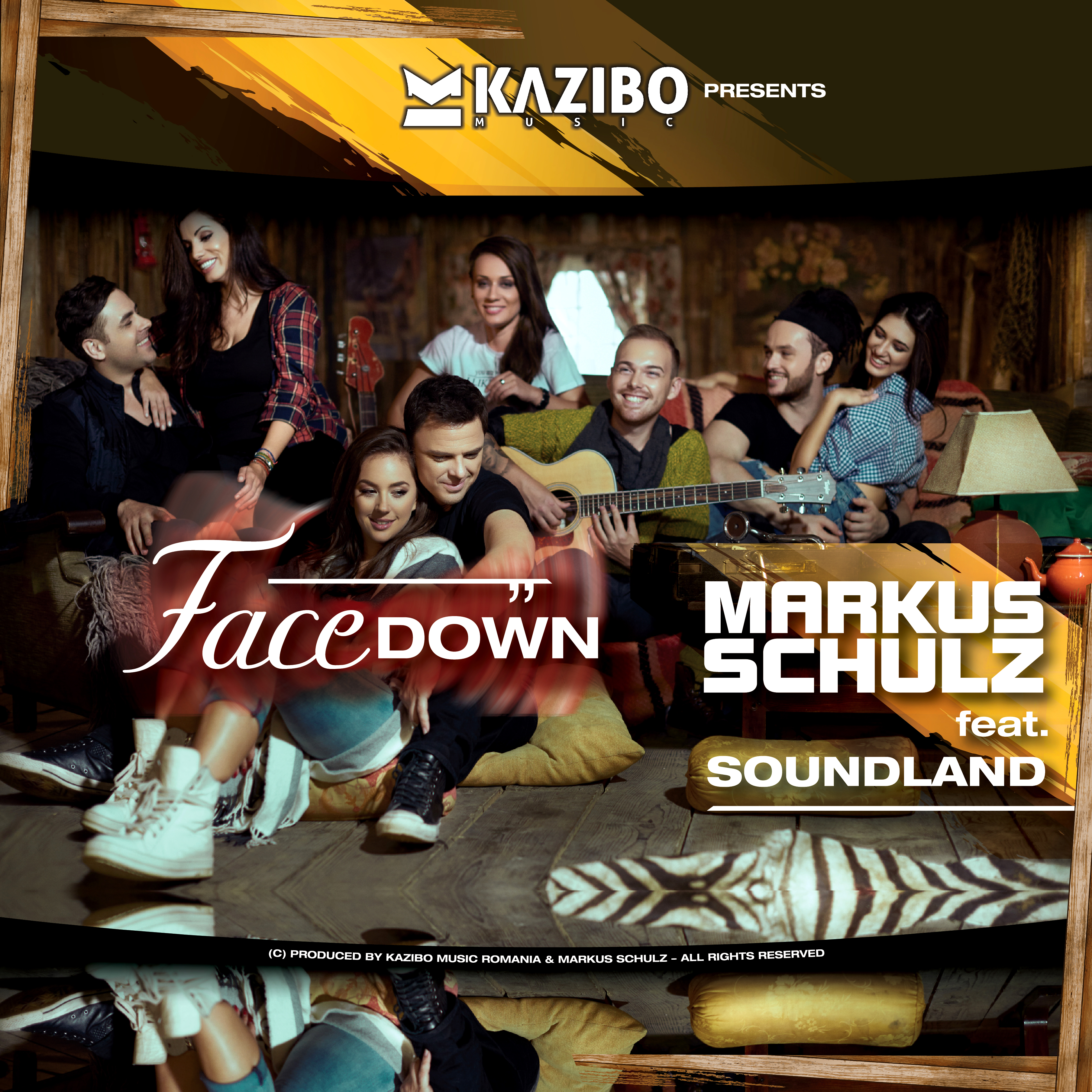 Markus Schulz feat. Soundland – Facedown (by KAZIBO) Official Music Video